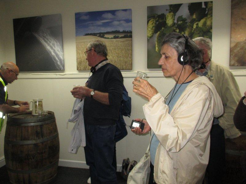 Shepheard Neame brewery tour