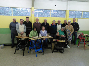 Woodcarving group